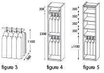 choisir et agencer son rangement sur mesure le guide. Black Bedroom Furniture Sets. Home Design Ideas