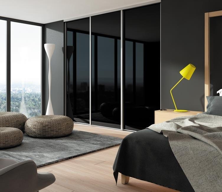portes de placard sur mesure coulissantes battantes. Black Bedroom Furniture Sets. Home Design Ideas