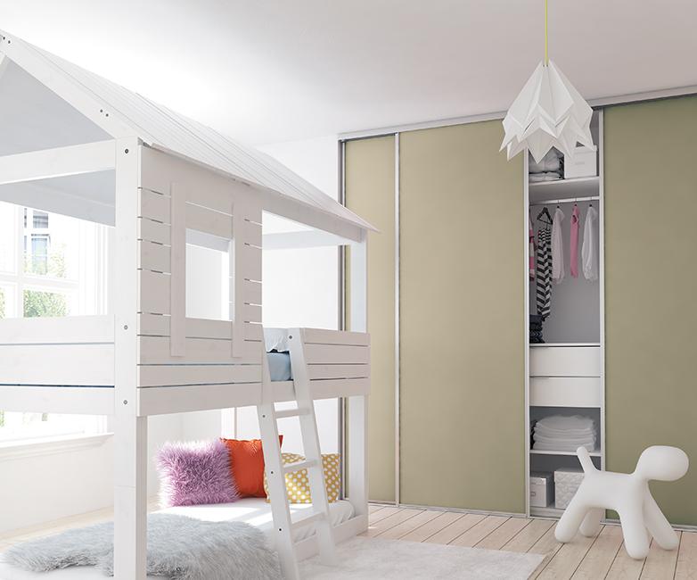 Chambre d'enfant pistache