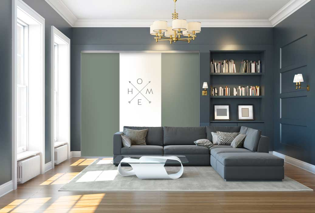 Collection Script - Modèle Home et vert olive