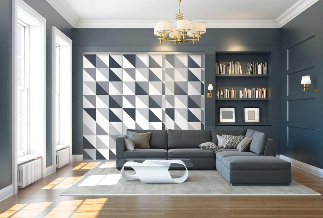 Collection Design - modèle Optique gris charbon<br>Modèle disponible dans tous les coloris des collections Tendance et Basique