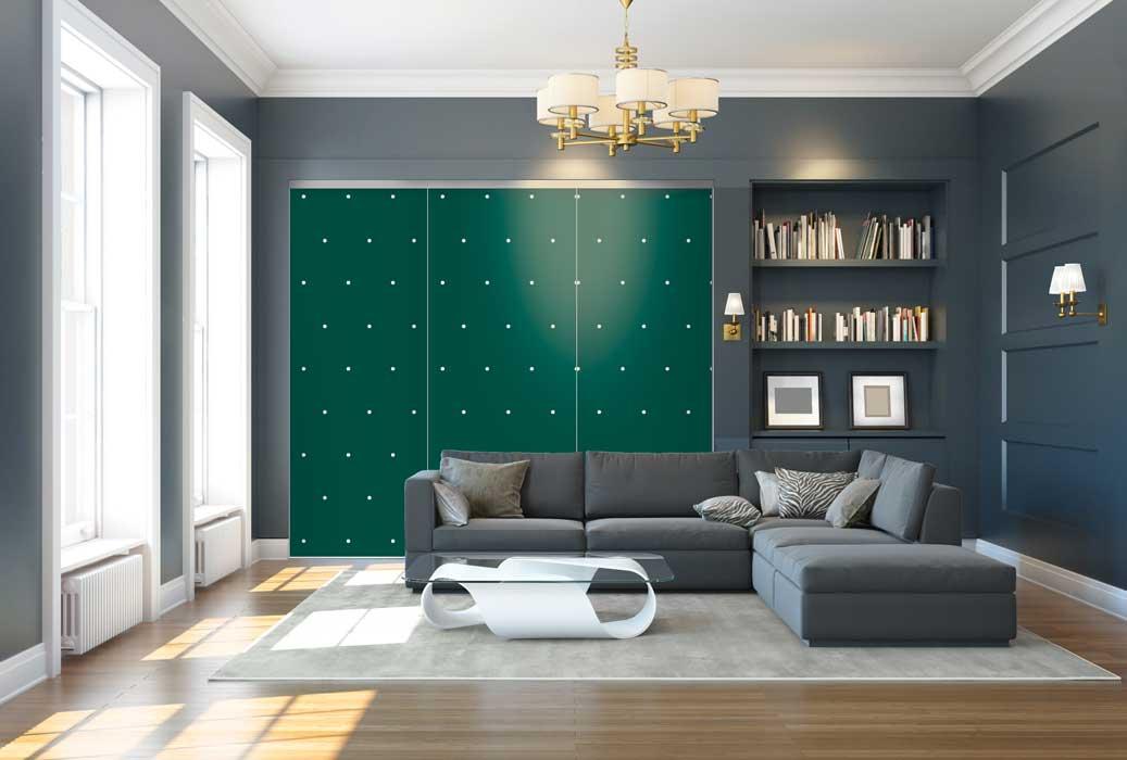 Collection Design - Modèle Points vert tropical<br>Modèle disponible dans tous les coloris des collections Tendance et Basique