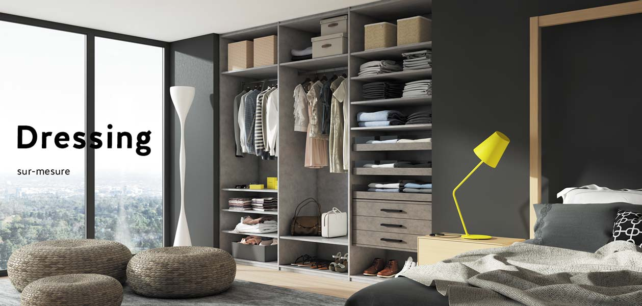 placards dressings am nagements sur mesure coulidoor. Black Bedroom Furniture Sets. Home Design Ideas